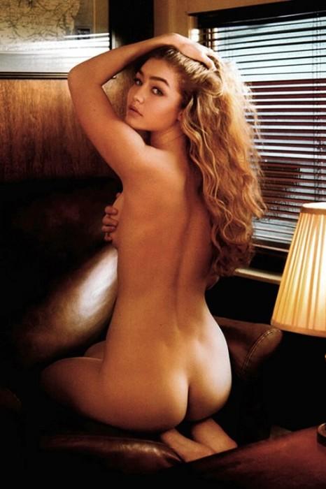 Gigi Hadid Covered Nude V Magazine Photos