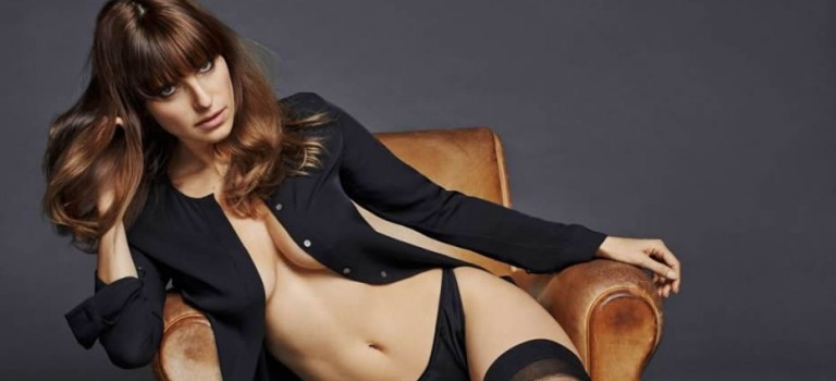 Hot Lake Bell for Esquire