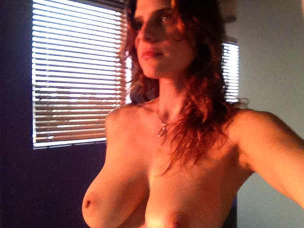 Lake Bell Leaked Selfie Topless