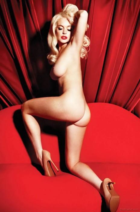 Lindsay Lohan Nude sexy body