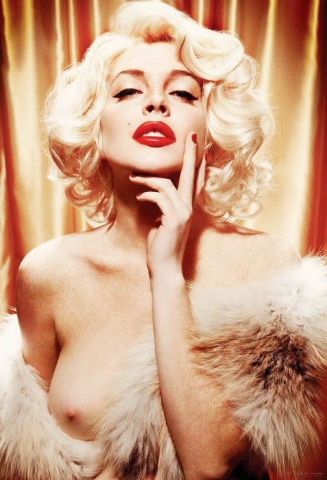 Lindsay Lohan Playboy 2012 pics