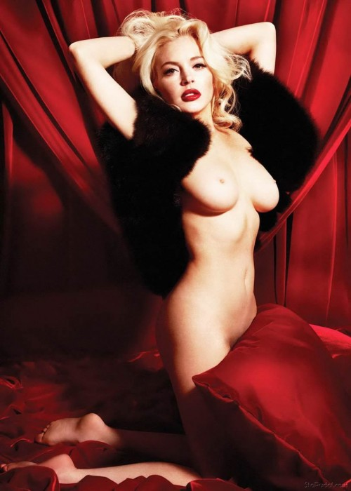 Lindsay Lohan Playboy 2012 pictures