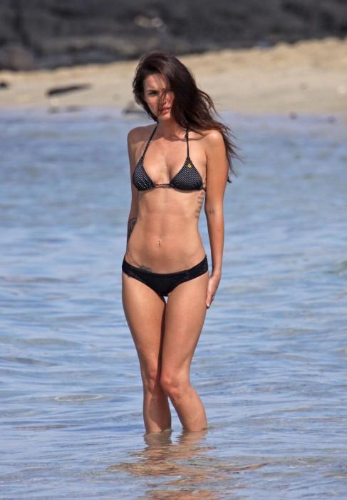 Megan Fox in hot bikini