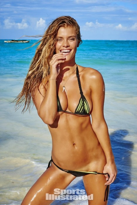 Nina Agdal in mini bikini