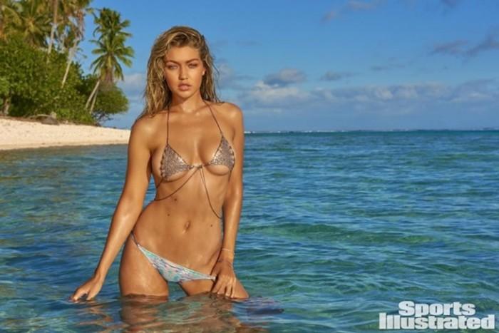 Sweet Gigi Hadid Sexy Photos Sports Illustrated Swimsuit 2016