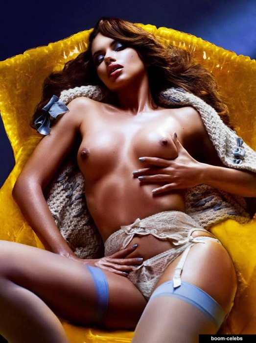 Nude photos of adriana lima useful
