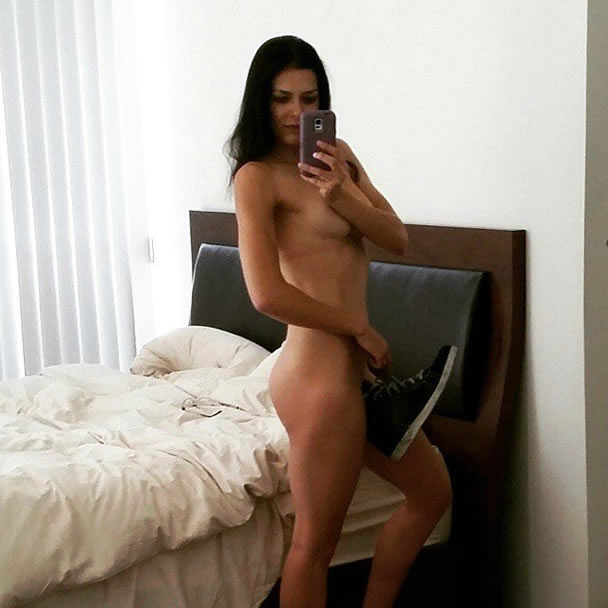 Adrianne Curry Naked Selfie