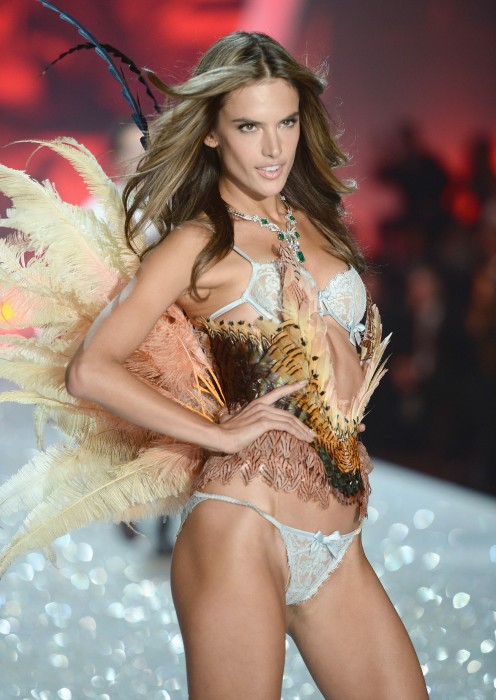 Alessandra Ambrosio Hot Model Victoria Secret