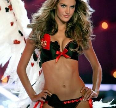 Hot Alessandra Ambrosio Victoria`s Secret Angels (11 Photos)