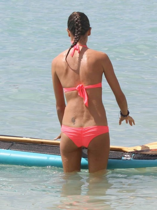 Alessandra Ambrosio in bikini hot