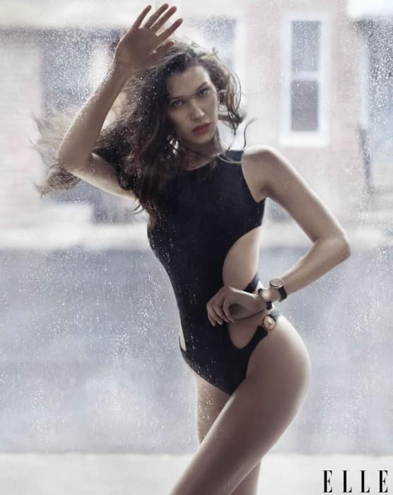 Bella Hadid Hot Pics Elle