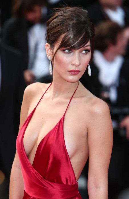 Bella Hadid Hot boobs