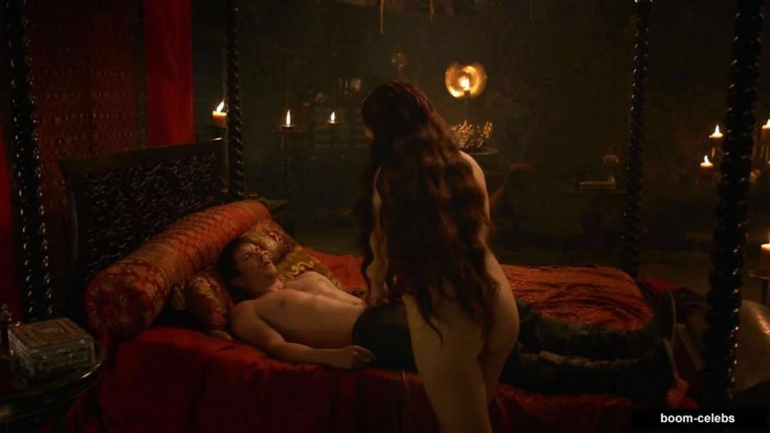 Carice van Houten sex scene game of thrones