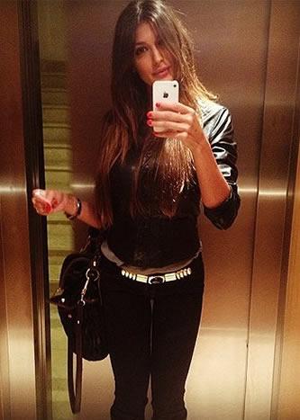 Cristina Buccino selfie