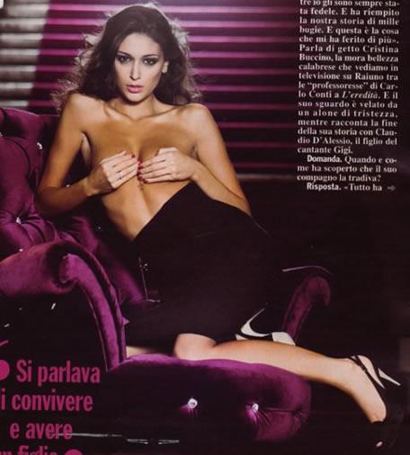 Cristina Buccino topless