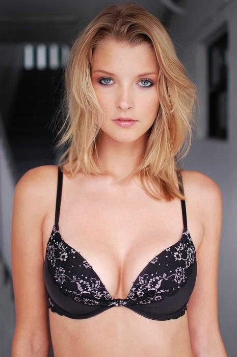 Erin Cummins in sexy bra