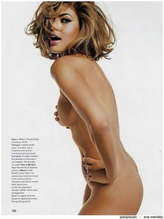 Eva Mendes Nude Photo