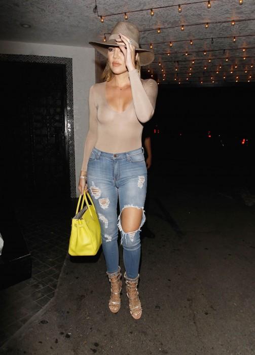 Khloe Kardashian See Through New