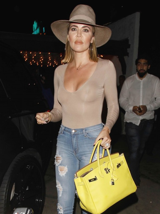 Khloe Kardashian See Through Paparazzi