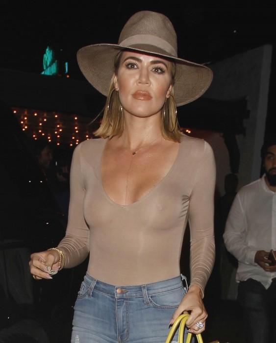 Khloe Kardashian boobs