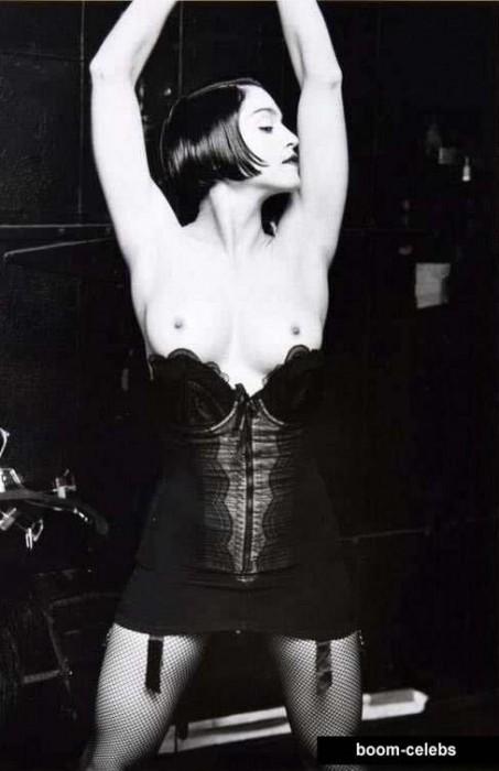 Madonna nip slips