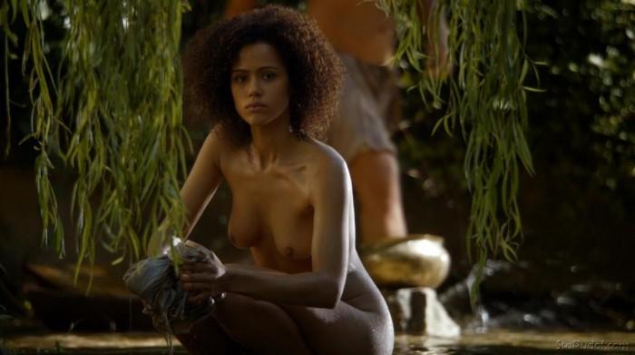 Nathalie Emmanuel hot scenes game of thrones