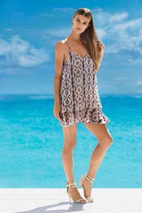 Nina Agdal Hot Dress