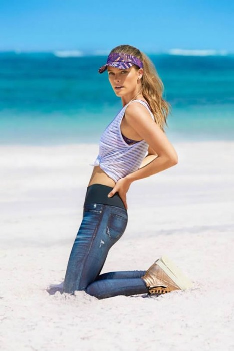 Nina Agdal Shoots For Live