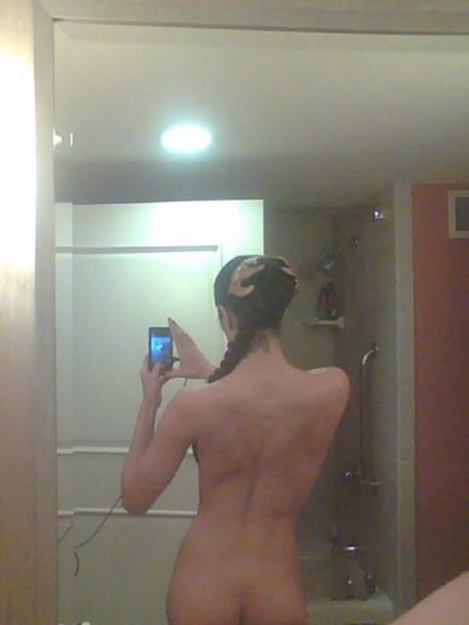Nude ass photo Adrianne Curry