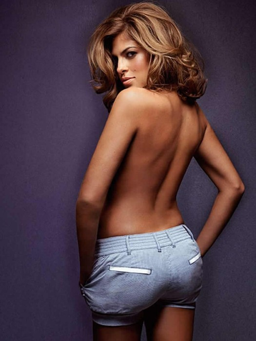 Sexy Eva Mendes Topless