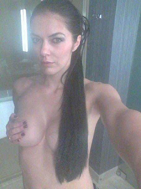 Topless photo of Adrianne Curry