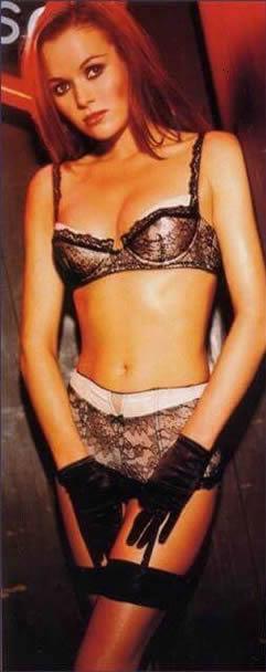 Amanda Holden sexy lingerie