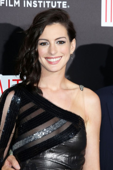 Anne Hathaway See Through Photo