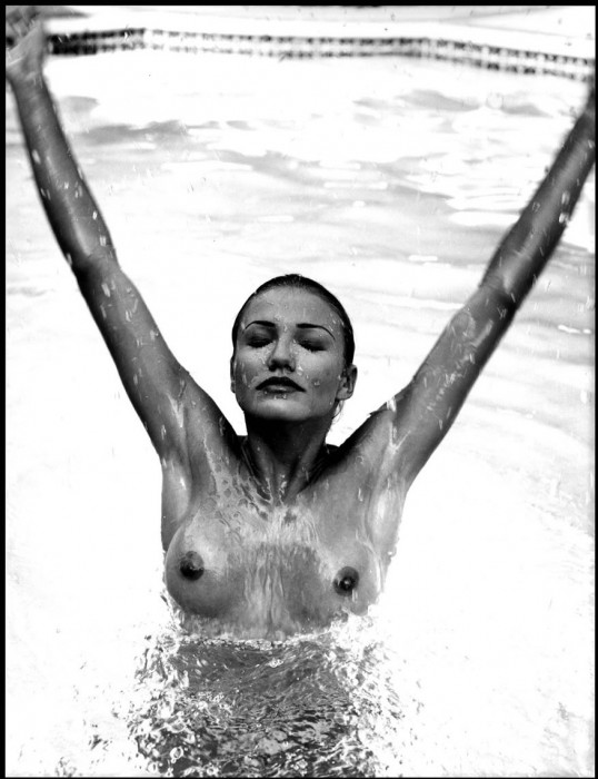 Cameron Diaz Topless hard nipples
