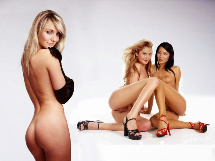 Cameron Diaz naked ass