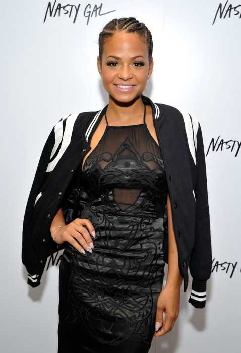 Christina Milian nipples hot
