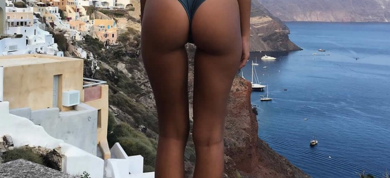 Emily Ratajkowski Naked in Greece August 2016 (3 Photos)