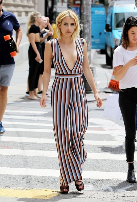 Emma Roberts in New York
