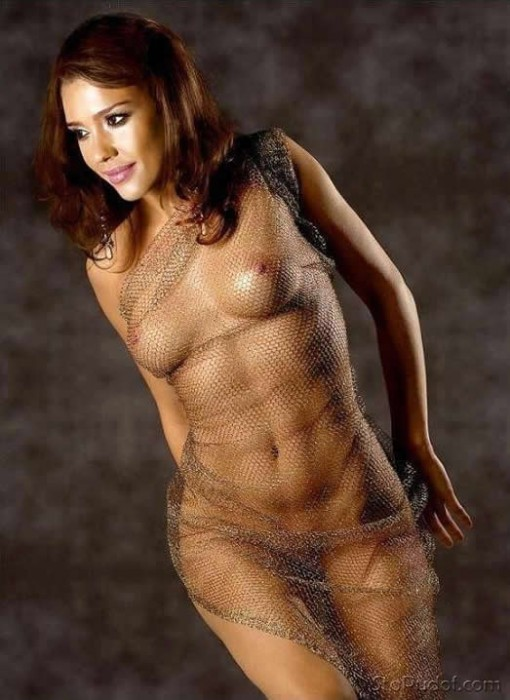 Hot Jessica Alba Naked