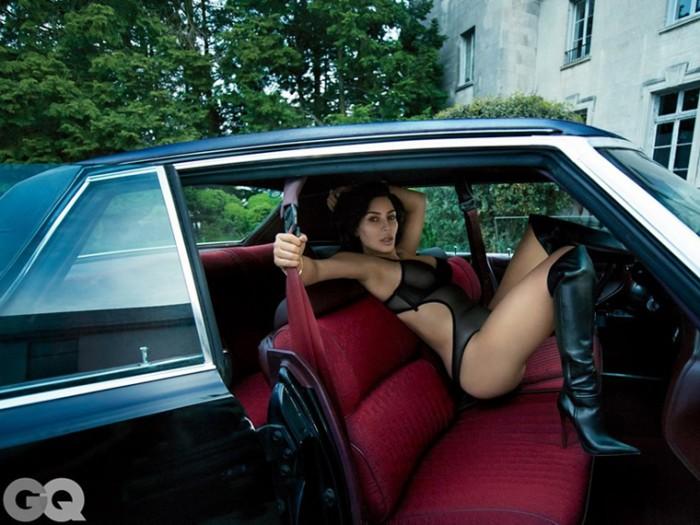 Hot Kim Kardashian for GQ