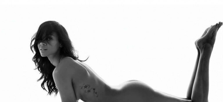 Zoe Saldana Naked (9 Photos)