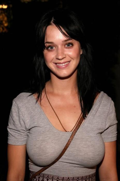 Katy Perry braless