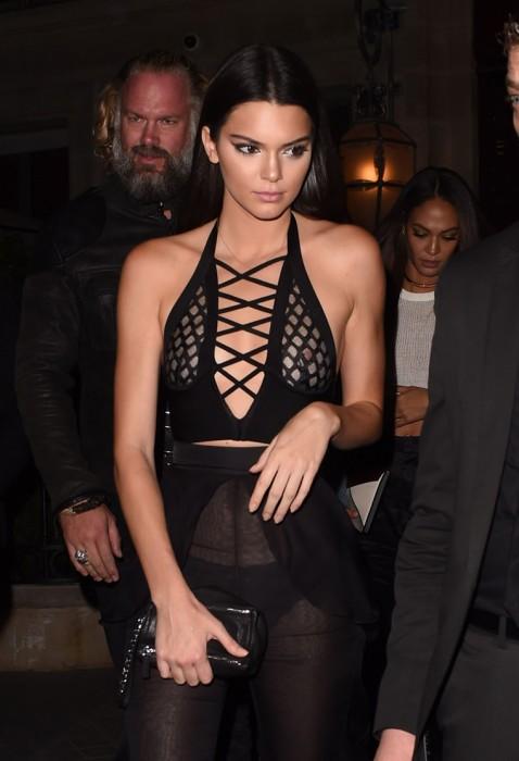 Kendall Jenner Nip Slip