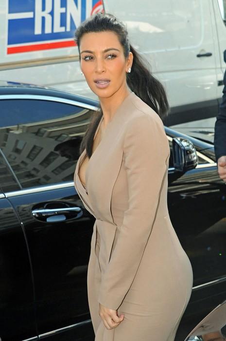 Kim KardashianNip SLip Paparazzi Photos