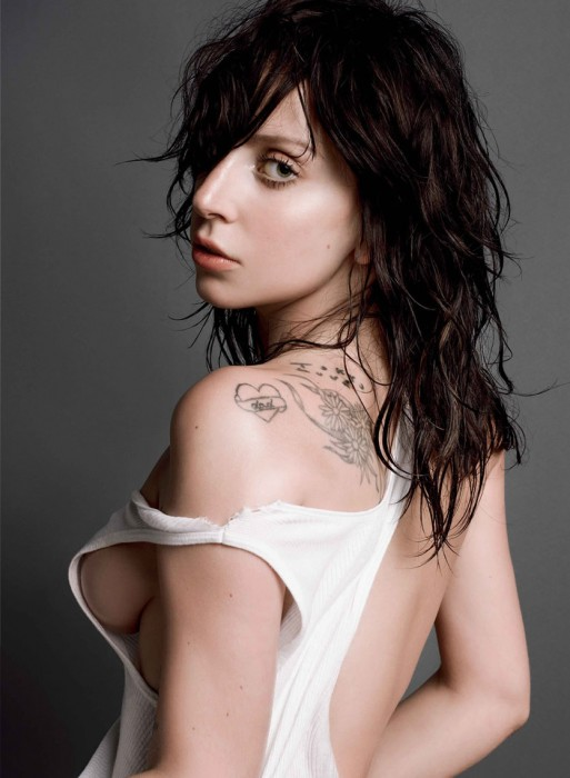 Lady Gaga Nude for V Magazine
