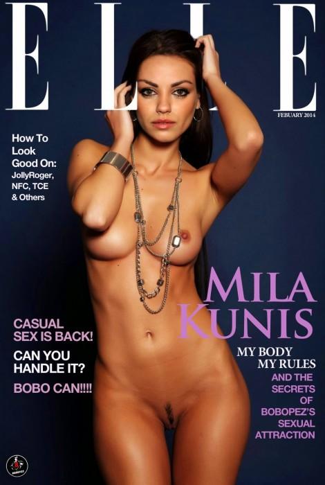 Mila Kunis naked pic