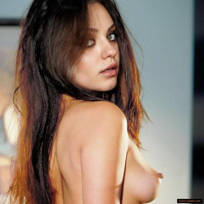 Mila Kunis nip slip