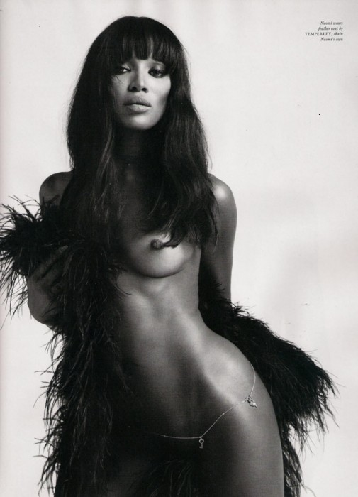 Naomi Campbell Naked Body