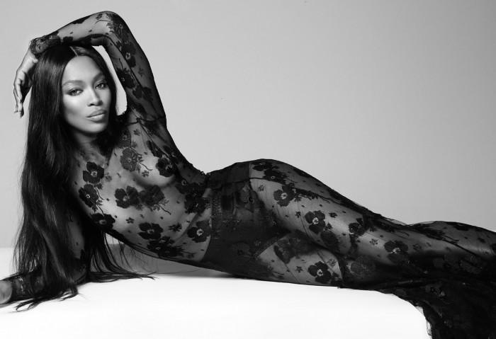 Naomi Campbell See through