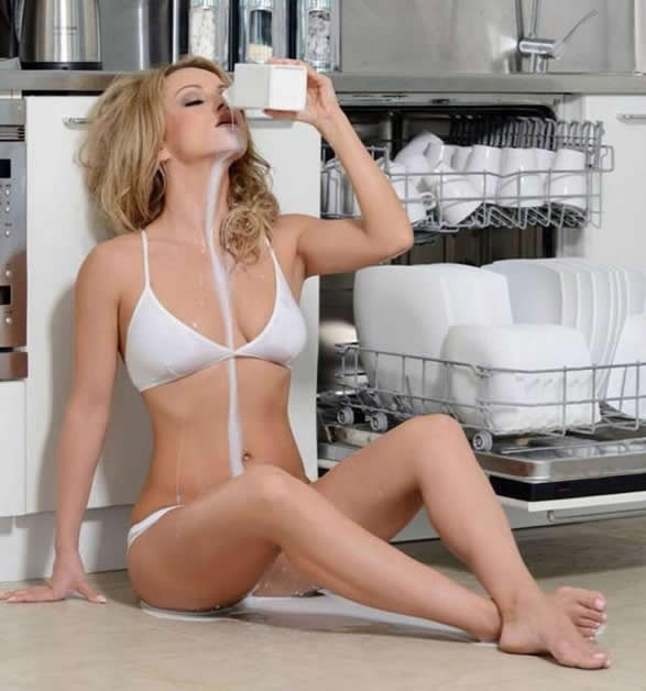 Ola Jordan and Milk Hot Pic